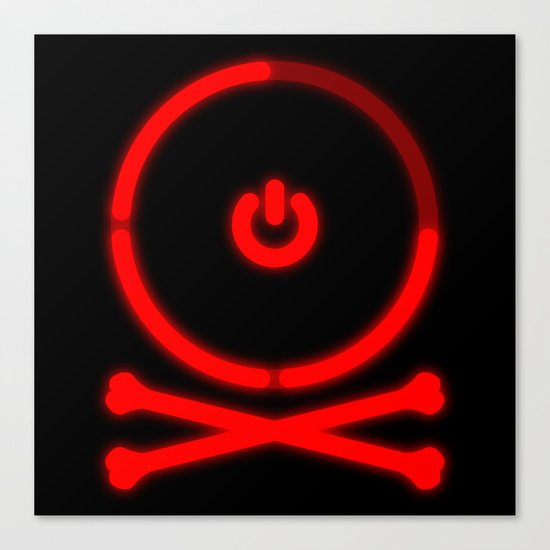 Red Ring Rodger Canvas Print