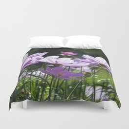 Mexican Asters Duvet Cover