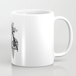 black flowers Coffee Mug