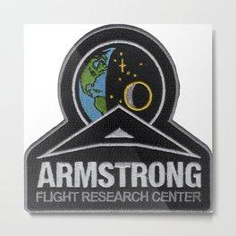 Armstrong Flight Research Center Logo Metal Print