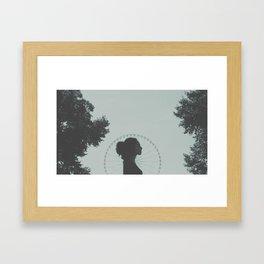 Paris, mon amour. [ 1 ]  Framed Art Print