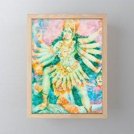 Om Kali om Matar Framed Mini Art Print