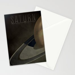 Saturn - The Bringer of Old Age Stationery Cards