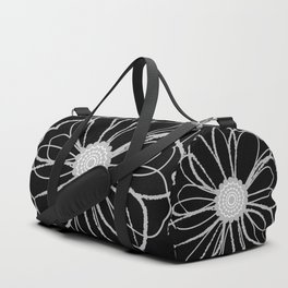 Anemone - Monotone Perennial Duffle Bag