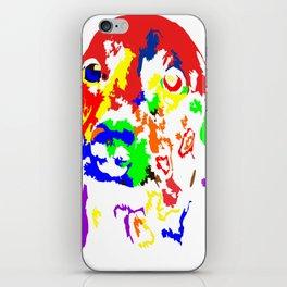 Colorful Dachshund 2018 Modern Fashion Gift Idea iPhone Skin