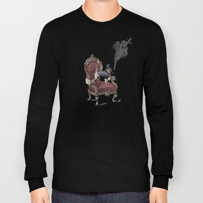 The Imperial Pug Long Sleeve T-shirt