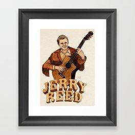 Jerry Reed Framed Art Print