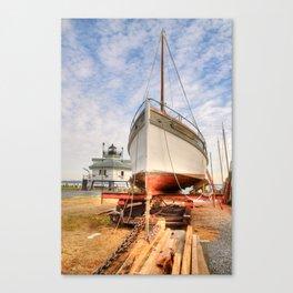 Dry Docked Mister Jim   Canvas Print