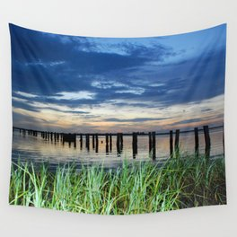 ghost pier Wall Tapestry