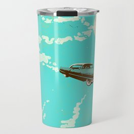 VINTAGE FLYING CAR Travel Mug