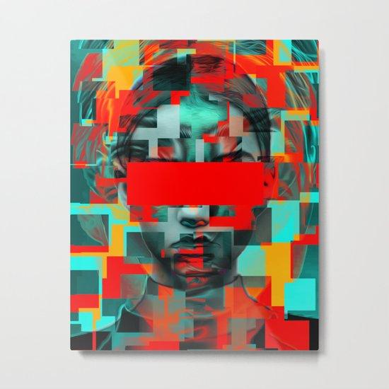 Digital G Metal Print