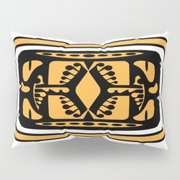 Tiki Rabbit Pillow Sham