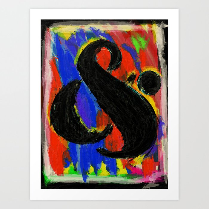 Ampersand Number 2 Art Print