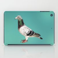 pigeon iPad Cases featuring Pigeon by Sally Taylor