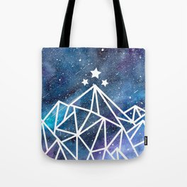 Watercolor galaxy Night Court - ACOTAR inspired Tote Bag