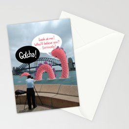 The secret of Nessie Stationery Cards