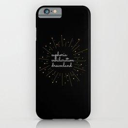 Euphoria synonyms iPhone Case