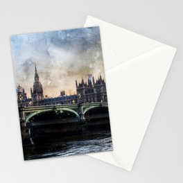 london-parliament-england-ben-ben Stationery Cards