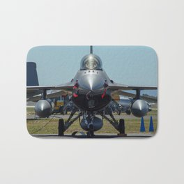 F-16 Fighting Falcon Bath Mat