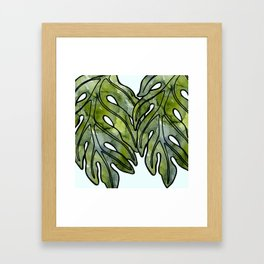 Lau Ulu Design 2 Framed Art Print