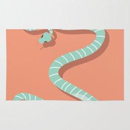 Snake card - hello stranger Rug
