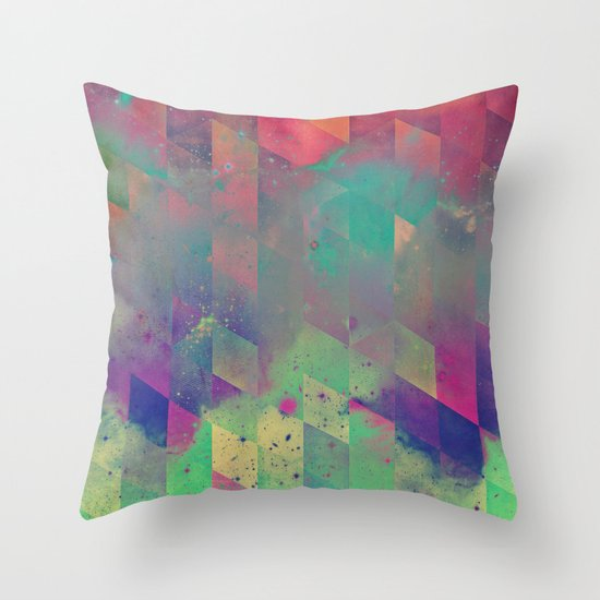 byby vy Throw Pillow