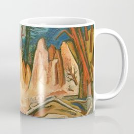 """African American Classical Masterpiece """"First African American Storyteller"""" by Hale Woodruff Coffee Mug"""