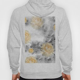 CHERRY BLOSSOMS AND YELLOW ROSES Hoody