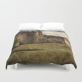 Chepstow Castle Towers Duvet Cover