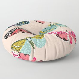 Lepidoptery No. 1 by Andrea Lauren  Floor Pillow