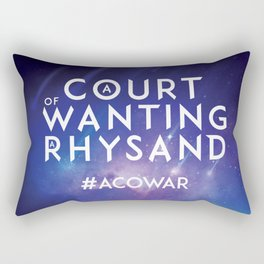 ACOWAR - A Court of Wanting a Rhysand Rectangular Pillow