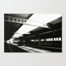 blue line Canvas Print