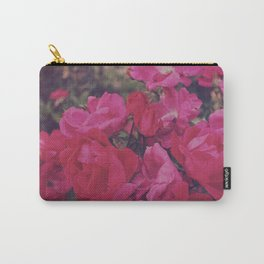 Faded Floral Carry-All Pouch