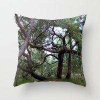 fairytale Throw Pillows featuring fairytale by anru