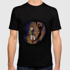 Link and the Imp Mens Fitted Tee MEDIUM Black