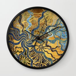 starry starry sea Wall Clock