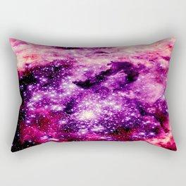 galaxy. Pink Fuchsia  Rectangular Pillow