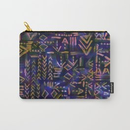 Tapa Tribal Aura Carry-All Pouch