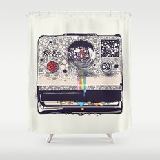 COLOR BLINDNESS Shower Curtain