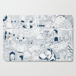 The Infinite Drawing Cutting Board