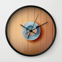 taste the dream Wall Clock