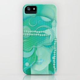 Mermaid III - Ice Queen iPhone Case
