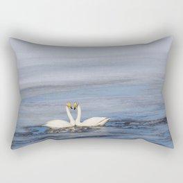 swans love of life Rectangular Pillow