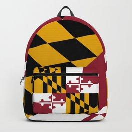Maryland State Flag, Hi Def image Backpack