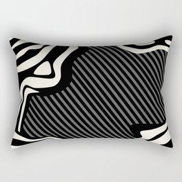 Lava Chaos Rectangular Pillow