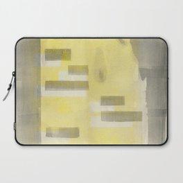 Stasis Gray & Gold 1 Laptop Sleeve