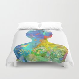 Ocean Thoughts Duvet Cover