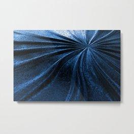 Cold Metal Abstraction Metal Print