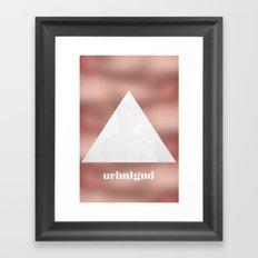 URBNLGND Framed Art Print