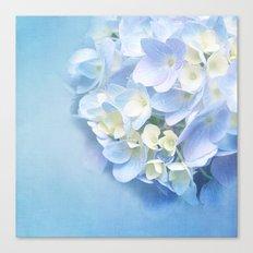 BABY BLUE FLOWER DREAM Canvas Print